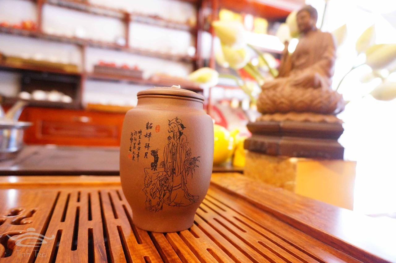 Hình ảnh của Hũ đựng trà 0149