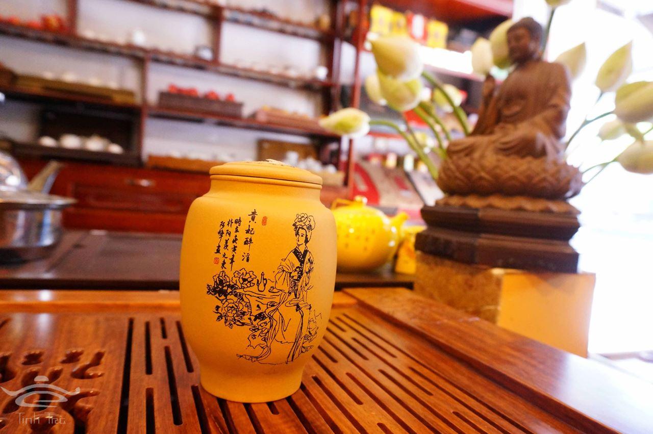 Hình ảnh của Hũ đựng trà 0150