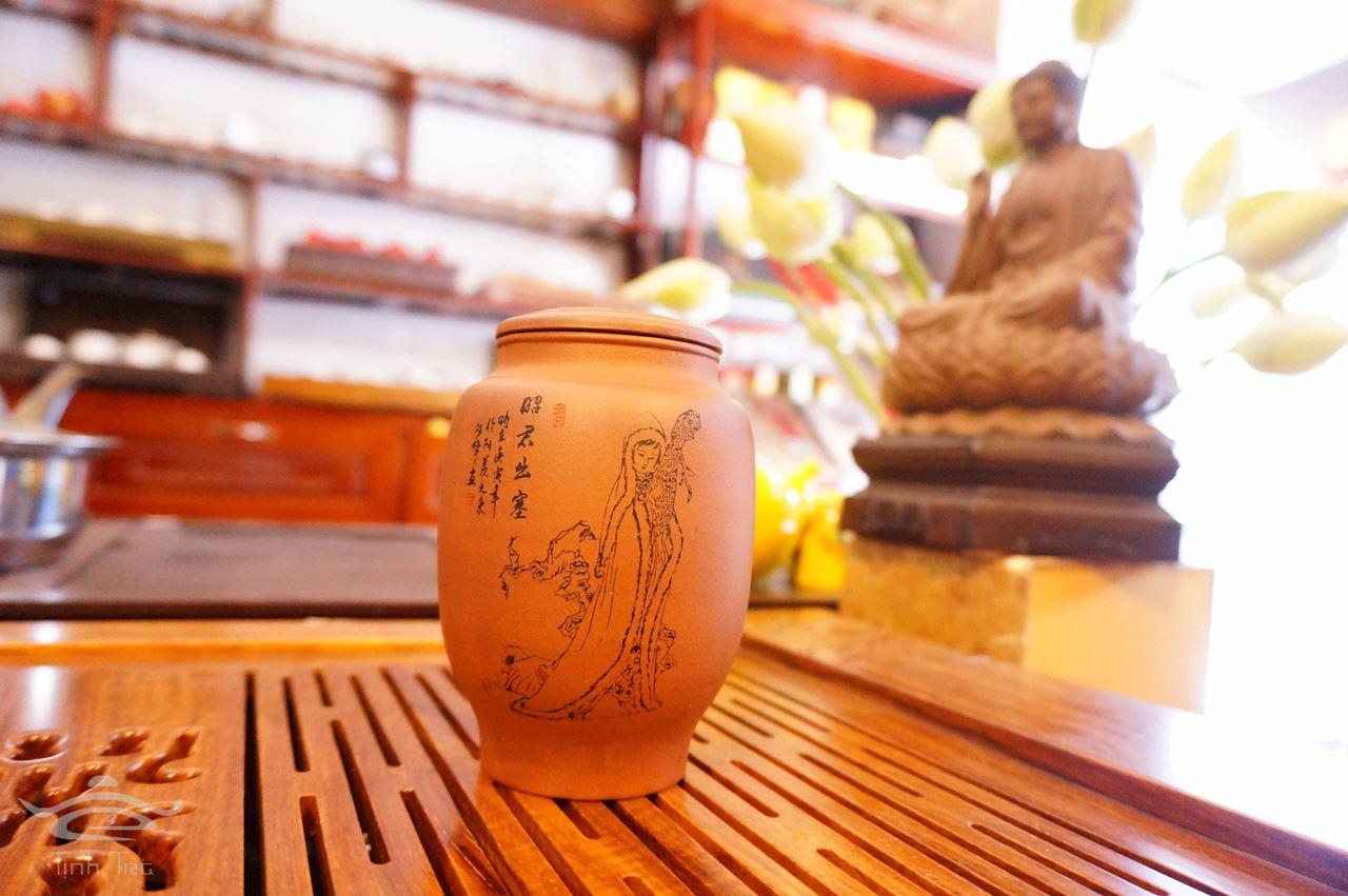 Hình ảnh của Hũ đựng trà 0151